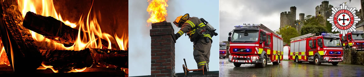 North Wales Fire service on chimney fires